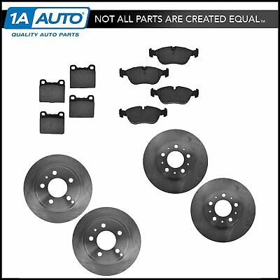 Nakamoto Brake Pad & Rotor Ceramic Kit Front & Rear for Volvo 850 C70 S70 V70