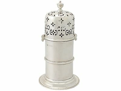 Antique, Sterling Silver Lighthouse Style Caster, Victorian - 1850-1899