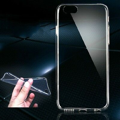 Slim Ultra Thin Transparent Crystal Clear Soft TPU Case Skin Cover For Phone
