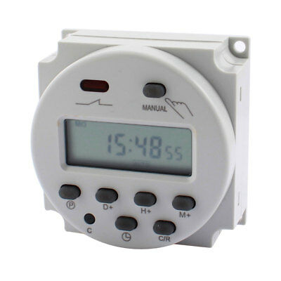 CN101A AC 110V Programmable LCD Digital Display Timer Control Switch
