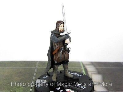 Lord of the Rings ARAGORN #24 HeroClix LOTR Fellowship miniature Wizkids #024