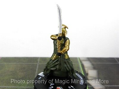 Lord of the Rings ELVEN WARRIOR #2 HeroClix LOTR Fellowship miniature Wizkid 002