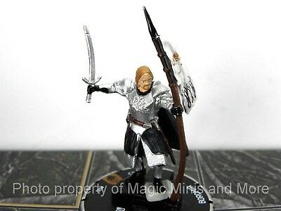 Lord of the Rings  BOROMIR #35 HeroClix LOTR Two Towers CHASE rare LE #035