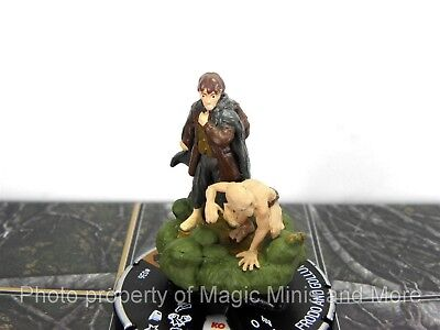 Lord of the Rings  FRODO AND GOLLUM 36 HeroClix LOTR Two Tower CHASE rare LE 036