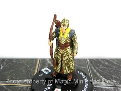 Lord of the Rings GALADHRIM ELVEN SOLDIER #2 HeroClix LOTR Two Towers mini #002