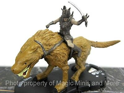 Lord of the Rings WARG RIDER #28 HeroClix LOTR Two Towers super rare #028 Token