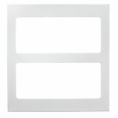 Wiremold Legrand V4007C-2 2-Gang Device Cover Plate 4000 Series, Ivory  (5 Pack)