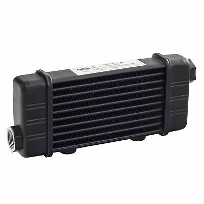 Setrab Slimline Universal 592mm Matrix 6 Row Engine Oil Cooler M22 Female Metric