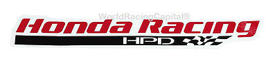 NEW! OFFICIAL 2014 HONDA RACING HPD INDYCAR/INDY CAR RACING TEAM DECAL/STICKER