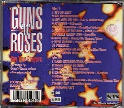 Guns N' Roses - Say Your Players- 2Cd Live Con Siae Italia - Sigillato - Mint!!
