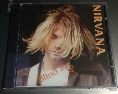 NIRVANA - BLIND PIG - CD LIVE USA 1990-  NO CDr RARO SEALED MINT
