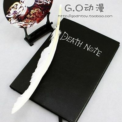 Death Note Notebook Large Writing Journal Anime Theme Deathnote Cosplay!!!