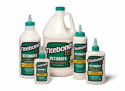 Titebond III Ultimate Wood Glue All Sizes With Glue Applicator 4 8 16 32oz 3.8l