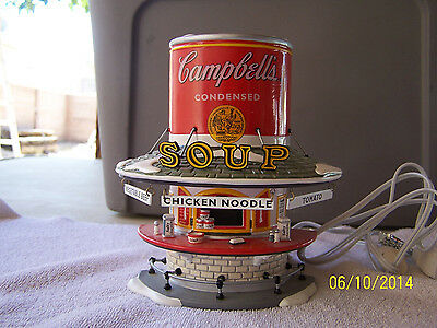 LIGHTED CAMPBELL'S SOUP COUNTER-DEPT. 56-COLLECTIBLE BEAUTIFUL