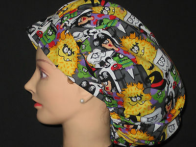 Surgical Scrub Hats/Caps Halloween  Monster Party