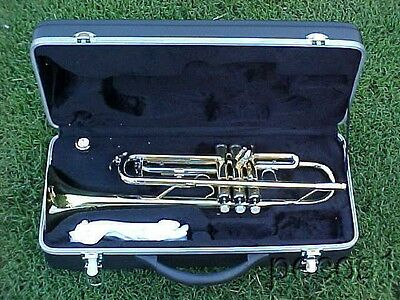 NEW BRASS MARCHING, CONCERT OR BAND TRUMPETS-B FLAT