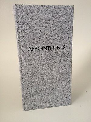 Grey 3 Column Appointment Book - Salons, Spas, Health Clubs, Clinics etc ..