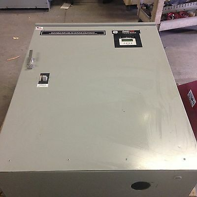 Zenith Ztg Transfer Switch 400 Amp 600V Max 3 Phase 65Kaic Service Rated