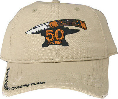 Buck BU89083 110 50th Anniversary Hat Hunter Embroidery Adjustable