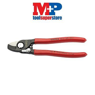 Draper 09447 Knipex 165mm Copper or Aluminium Only Cable Shear with Sprung Handl