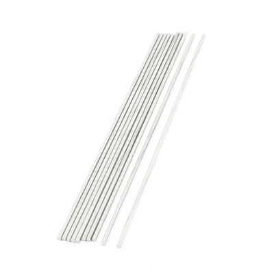 10pcs Stainless Steel 180 x 2.5mm Round Rod Shaft for RC Model