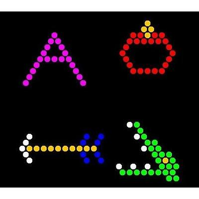 Lite Brite Refill: Letters (26 SQUARE SHEETS) - NOT for New Magic Screen New