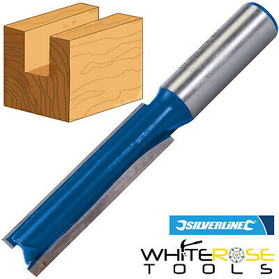 """Silverline 12mm Straight Imperial Cutter 1/2"""" x 2"""" Or 1/2"""" x 2-1/2"""" Twin Fluted"""