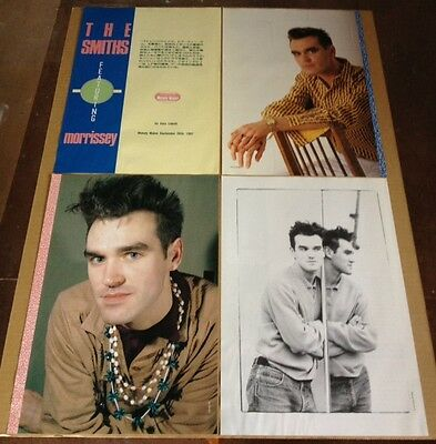 1988 The Smiths 8pg 4 photo JAPAN mag article / vintage clippings cuttings 05ga