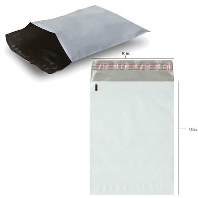 10 x 13 SelfSeal Poly Mailer Envelope FREE EXPEDITED SHIPPING 50 100 200 300 500