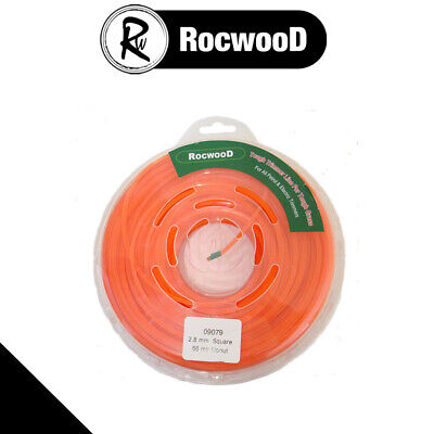 Brushcutter Strimmer Cord / Line 2.8Mm X 66 Metres