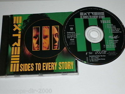 Extreme Iii Sides To Every Story Cd Indianapolis D100119 Rest In Peace Our Fathe