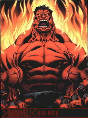 2012 Marvel Greatest Heroes #60 Red Hulk