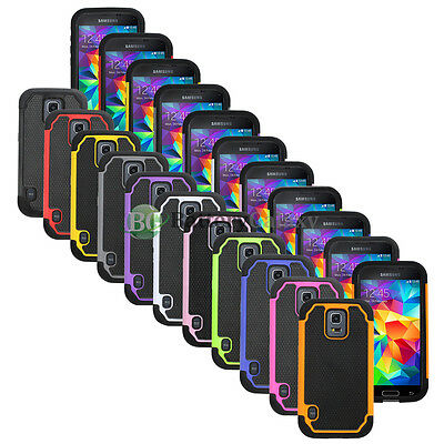 CLEARANCE Lot of 11 Hybrid Rubber Case for Android Phone Samsung Galaxy S5 Mini