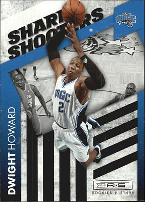 2010-11 Rookies and Stars Sharp Shooters Black #1 Dwight Howard/99
