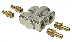 Derale 13011 Fluid Control Thermostat With Brass Fittings
