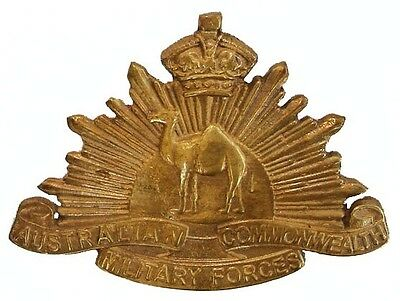WW1 THE AUSTRALIAN COMMONWEALTH MILITARY FORCES BADGE