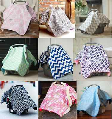 Car Seat Canopy Baby CarSeat Cover Keeps Infant Warm in Winter Cool in Summer!!