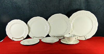 """92-Pcs (Or Less) Of Vintage Pope-Gosser """"rose Point"""" Pattern China (Early Mark)"""