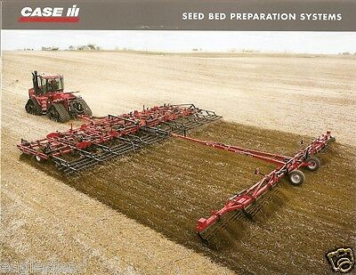 Farm Implement Brochure - Case IH - Seed Bed Preparation Systems - 2006 (F2650)