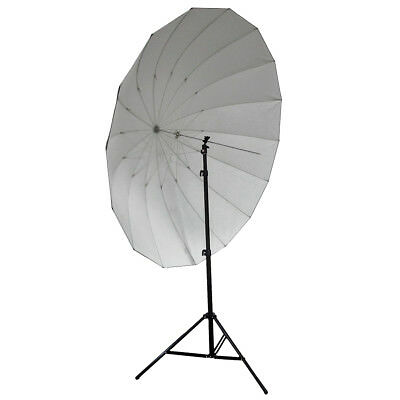 "Neewer 72""/185cm Silver/Black Reflective Umbrella 16 Fiberglass Rib 7mm Shaft"