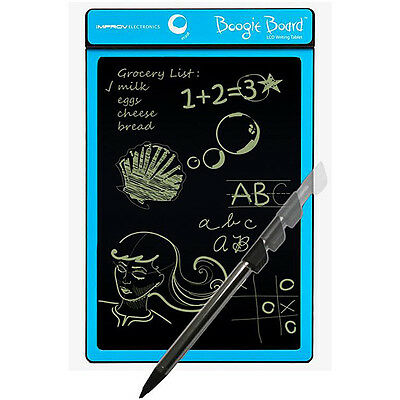 Improv 090049005 Boogie Board LCD Writing Tablet Cyan