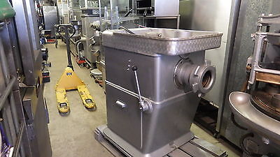 """Fred Holroyd Mincer size 56, massive 6"""" Bore VERY VERY POWERFUL 8 BELT DRIVE"""