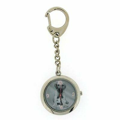 Keith Kimberlin Puppy Design Grey Dial Ladies Keyring Watch KK3