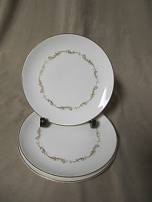 ROYAL DOULTON FRENCH PROVINCIAL SALAD PLATES IN EXCELLENT CONDITION