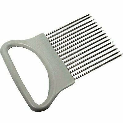 Fox Run Stainless Steel Onion Holder Tines - Tomato Slicing Guide Cutting Aid
