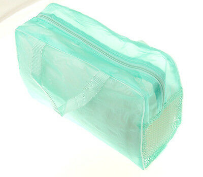 Green hot Portable Makeup Cosmetic Organizer Travel Wash Toothbrush Pouch Bag