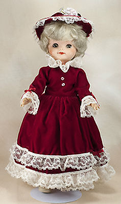 Vintage 15 Inch Vinyl & Plastic Doll With Open & Close Eyes Made In USA