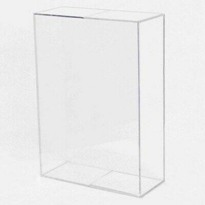 BALLQUBE Wheaties Size Cereal Box Holder display case protector cube