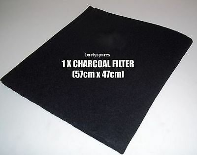 Universal COOKER HOOD Extractor CARBON filter CHARCOAL FITS ALL cut to size
