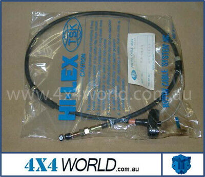 Toyota Landcruiser HJ75 Accelerator Cable 2H 10/85-1/90